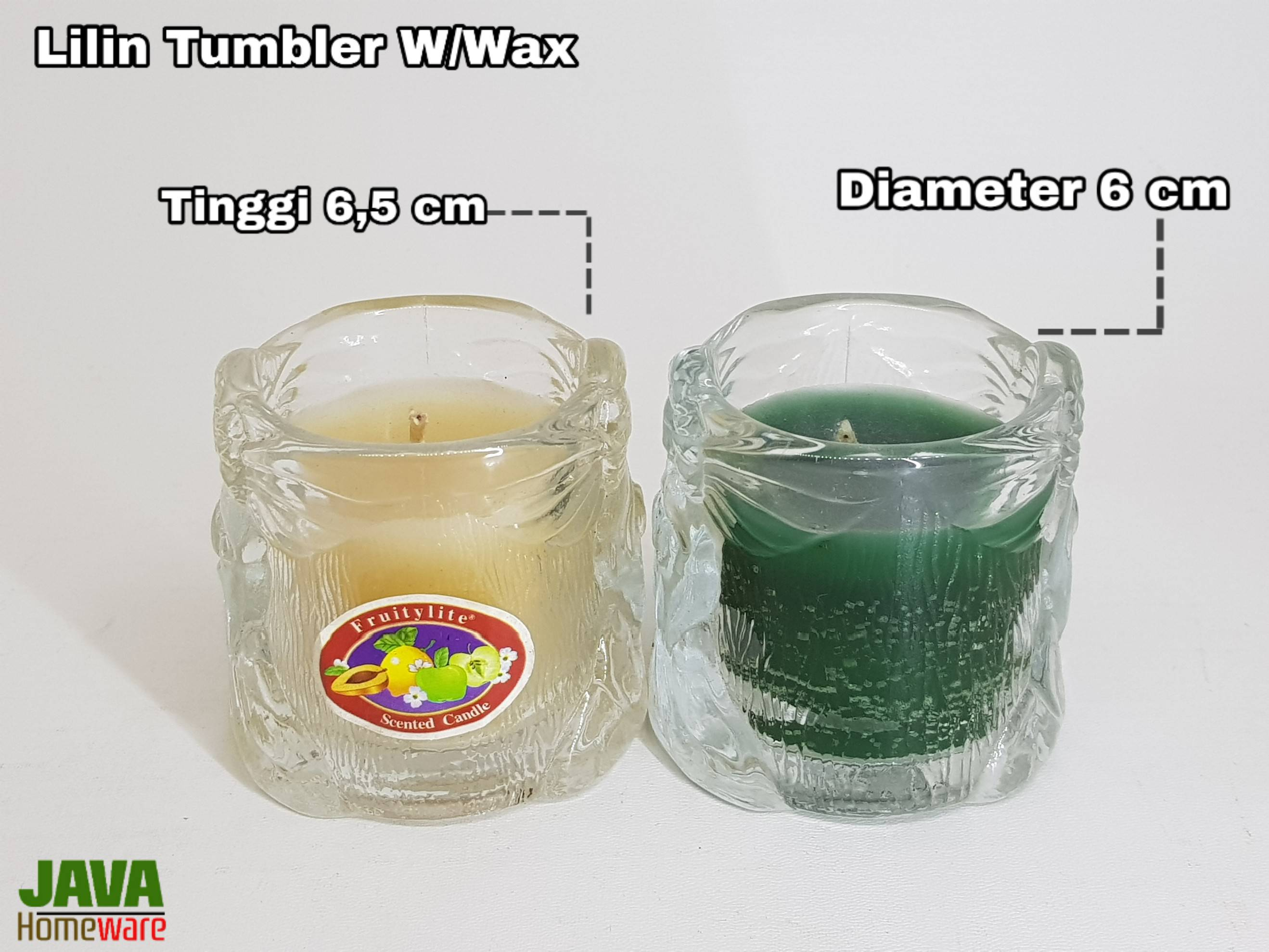 Lilin Tumbler W/Wax