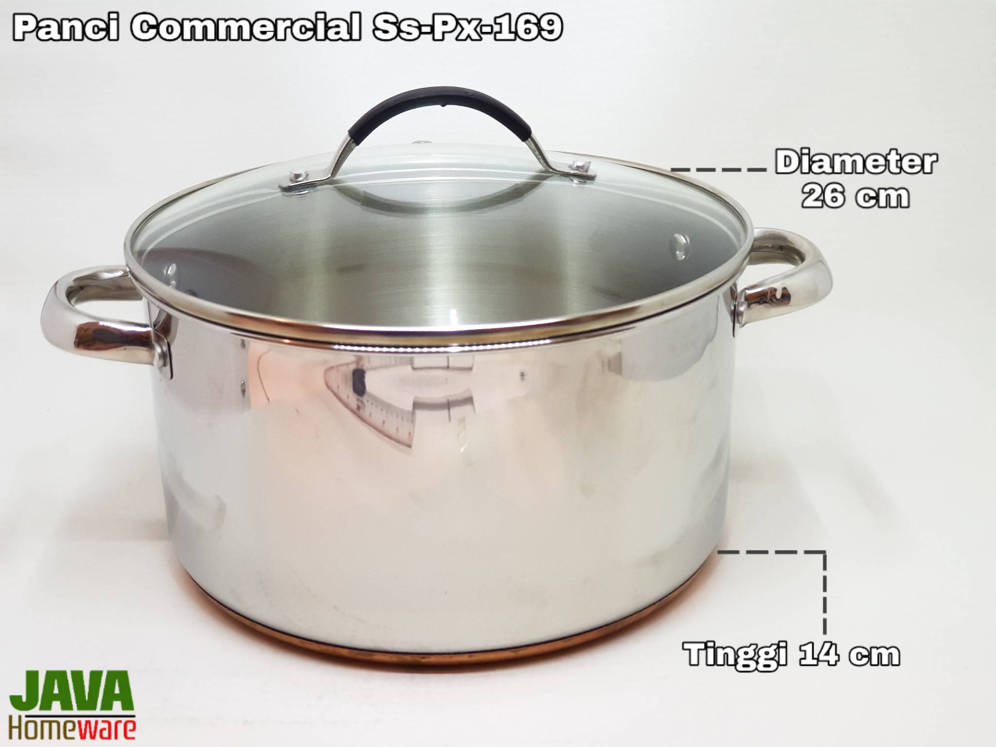 Panci Stainless Steel Commercial Multi Pot SS-PX-169