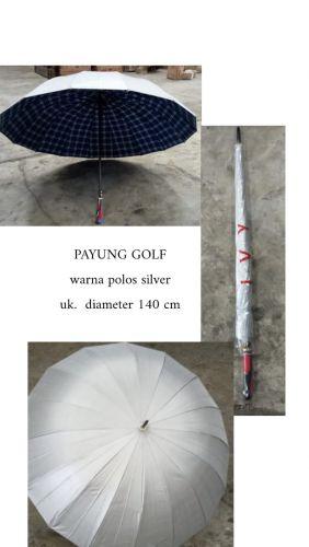 Payung golf silver