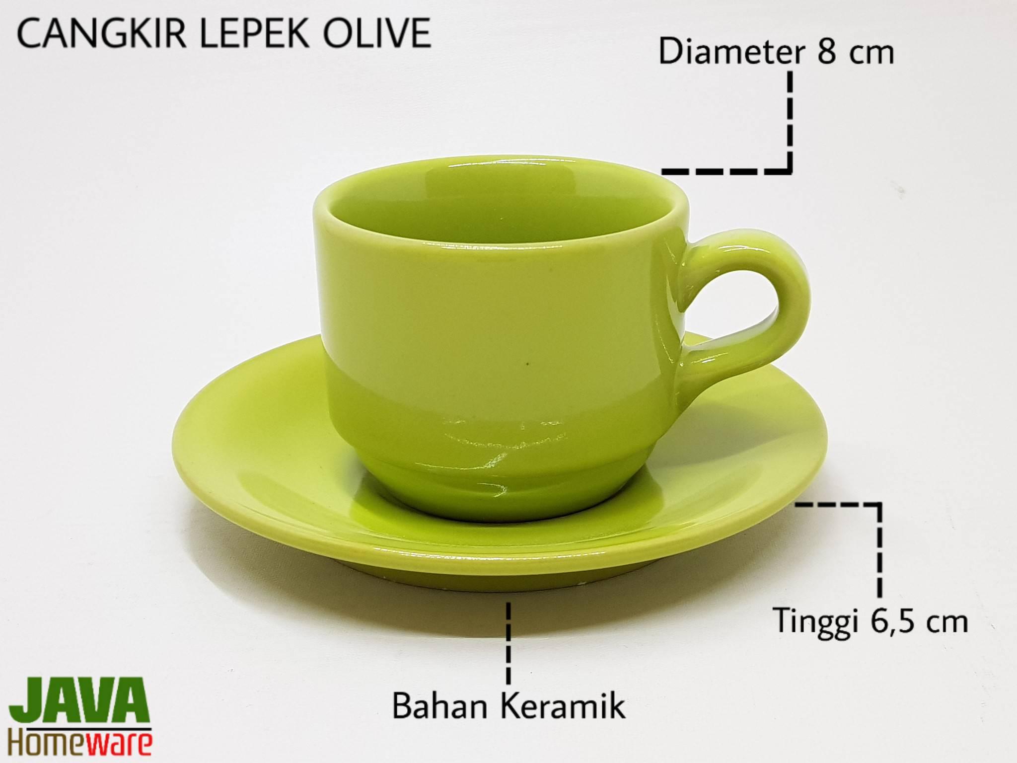 Cangkir Lepek Olive