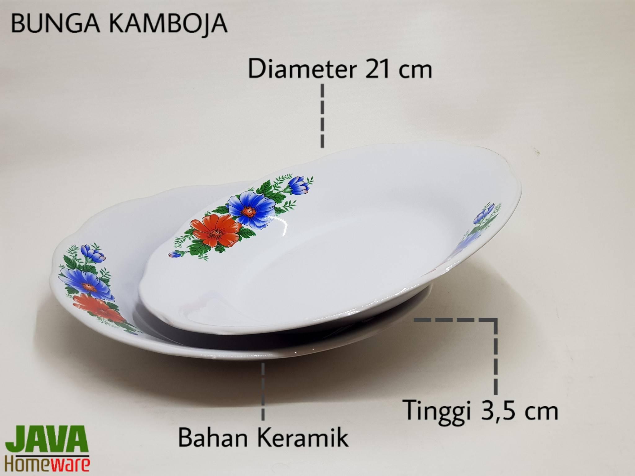 Piring Bunga Kamboja