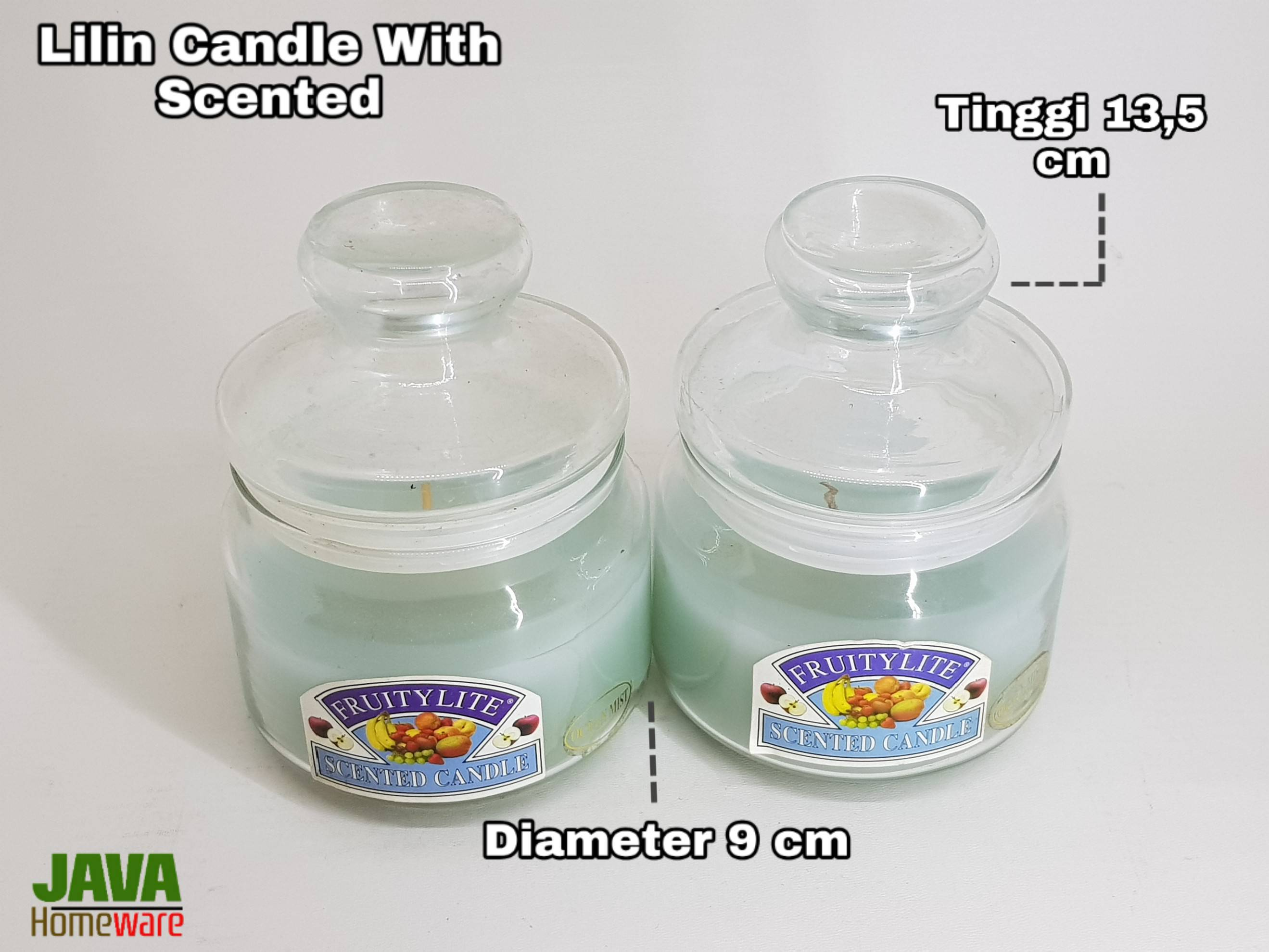 Lilin Candle With Scented With Scented