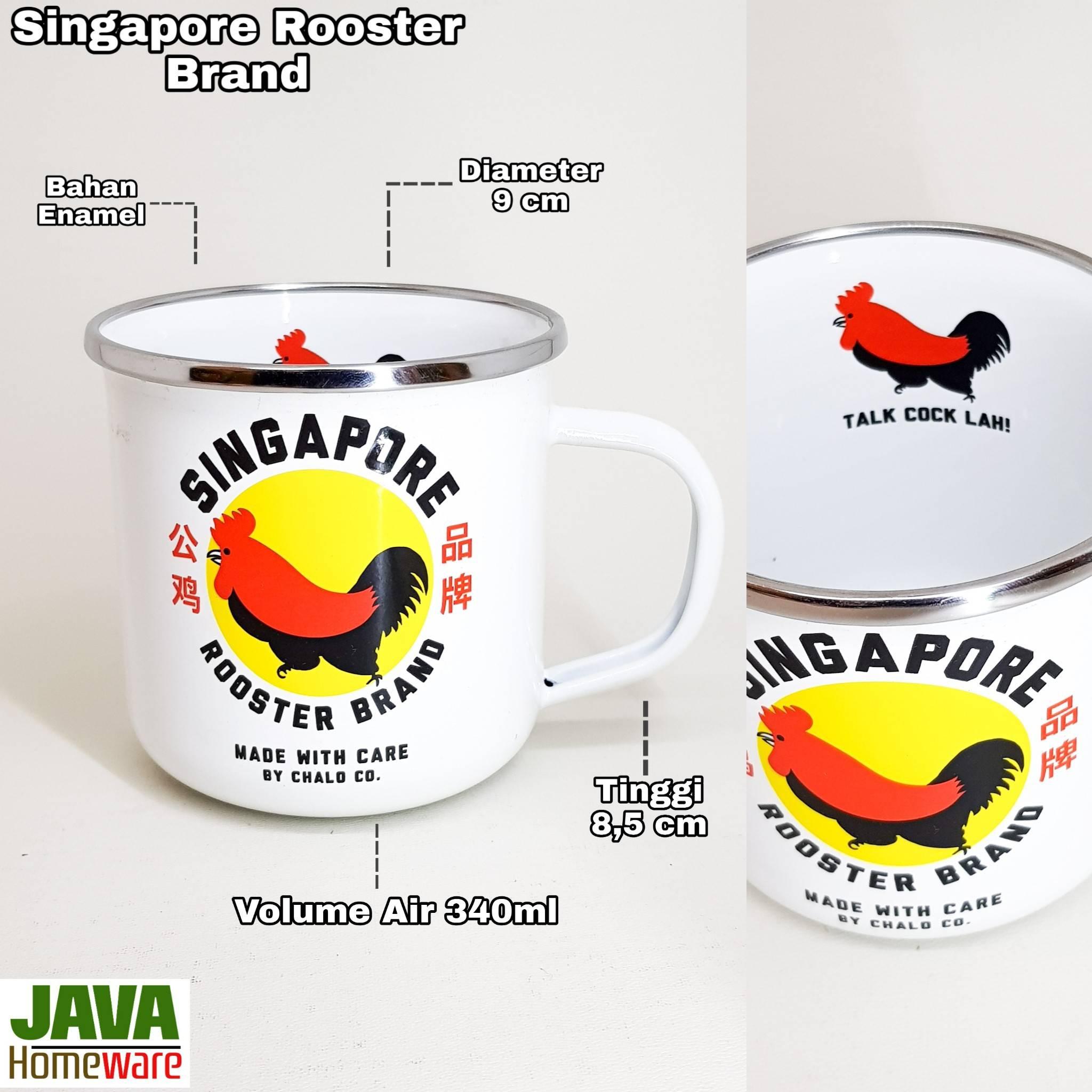 Mug Singapore Rooster Brand