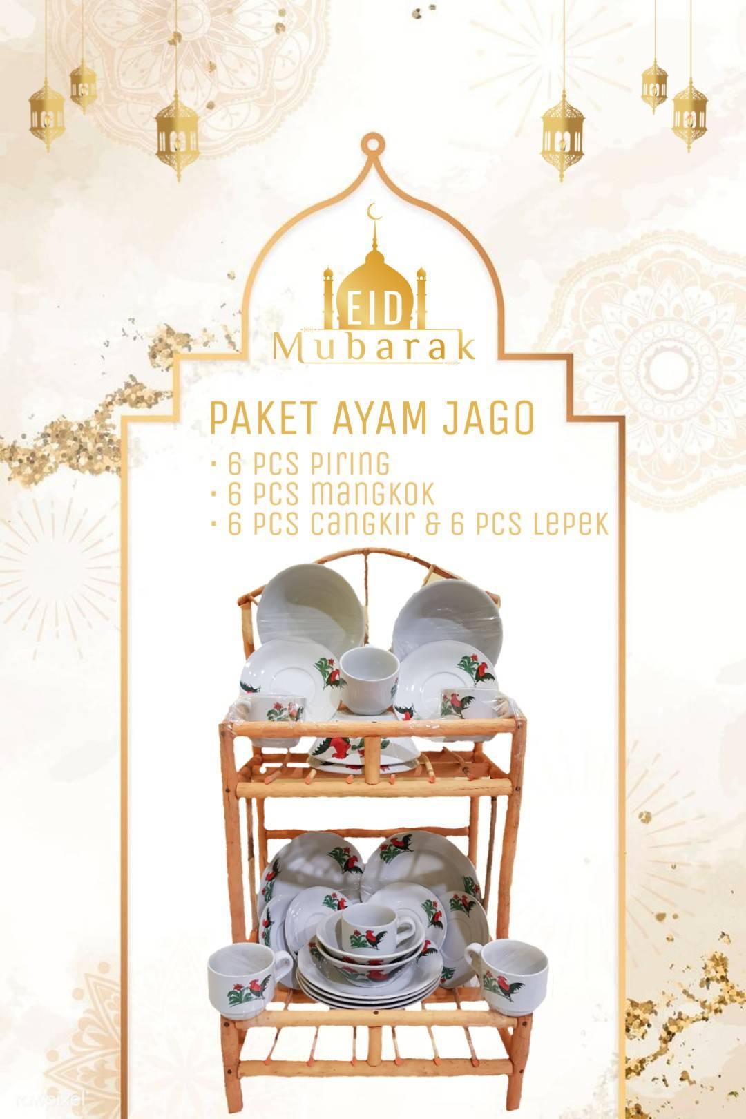 Parcel Ayam Jago