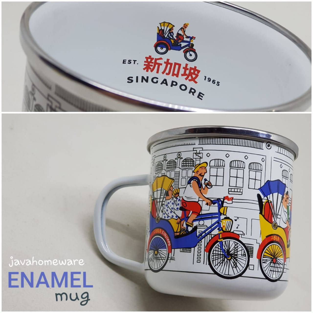 Mug Becak Singapore