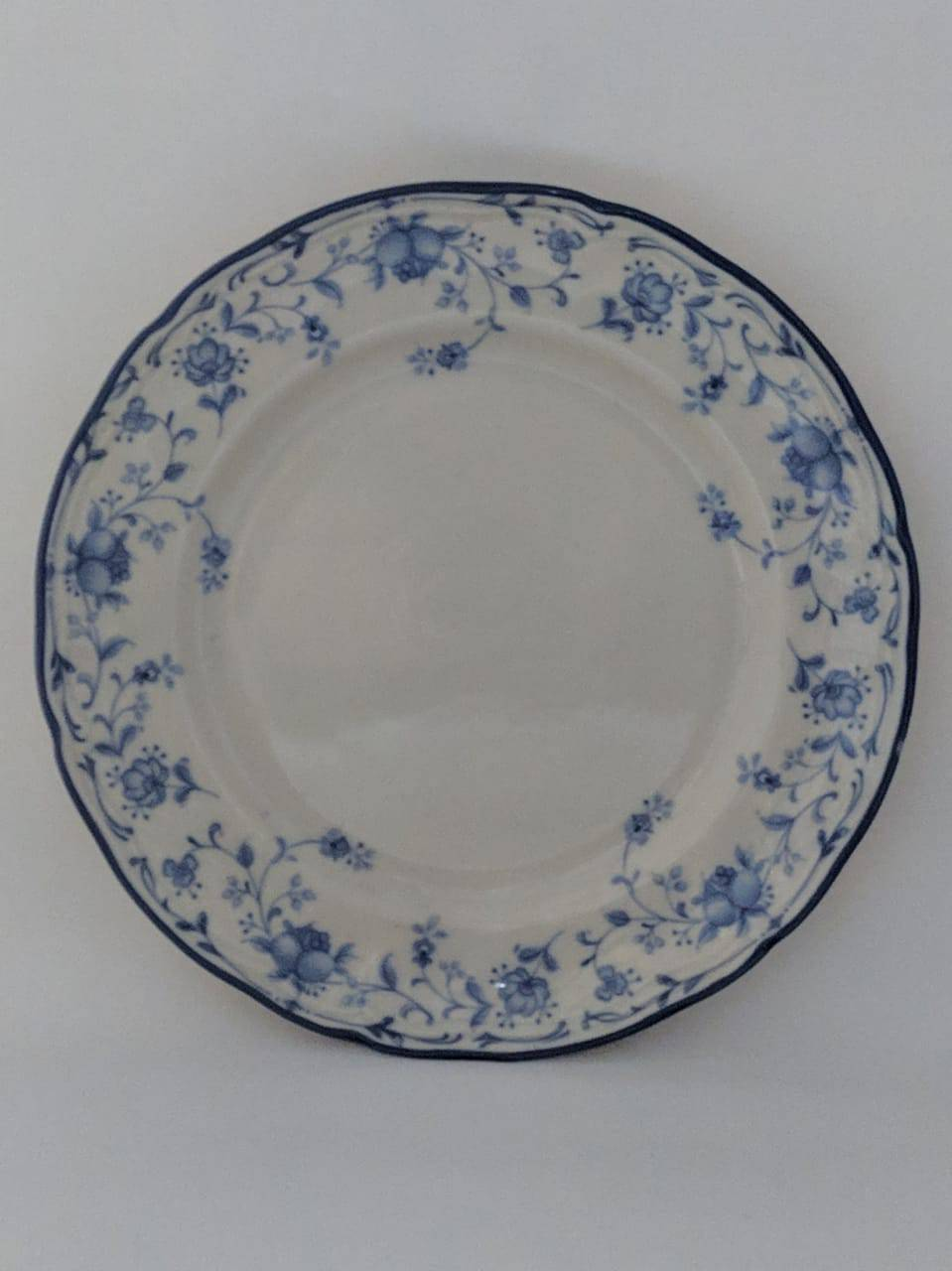 Piring Ceper China Blue