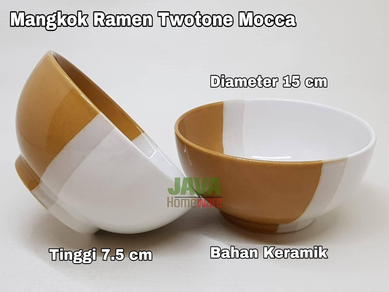 Mangkok Twotone Ramen Mocca