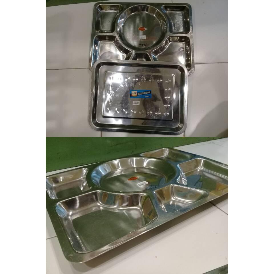 food tray cap gajah isi 6 SS