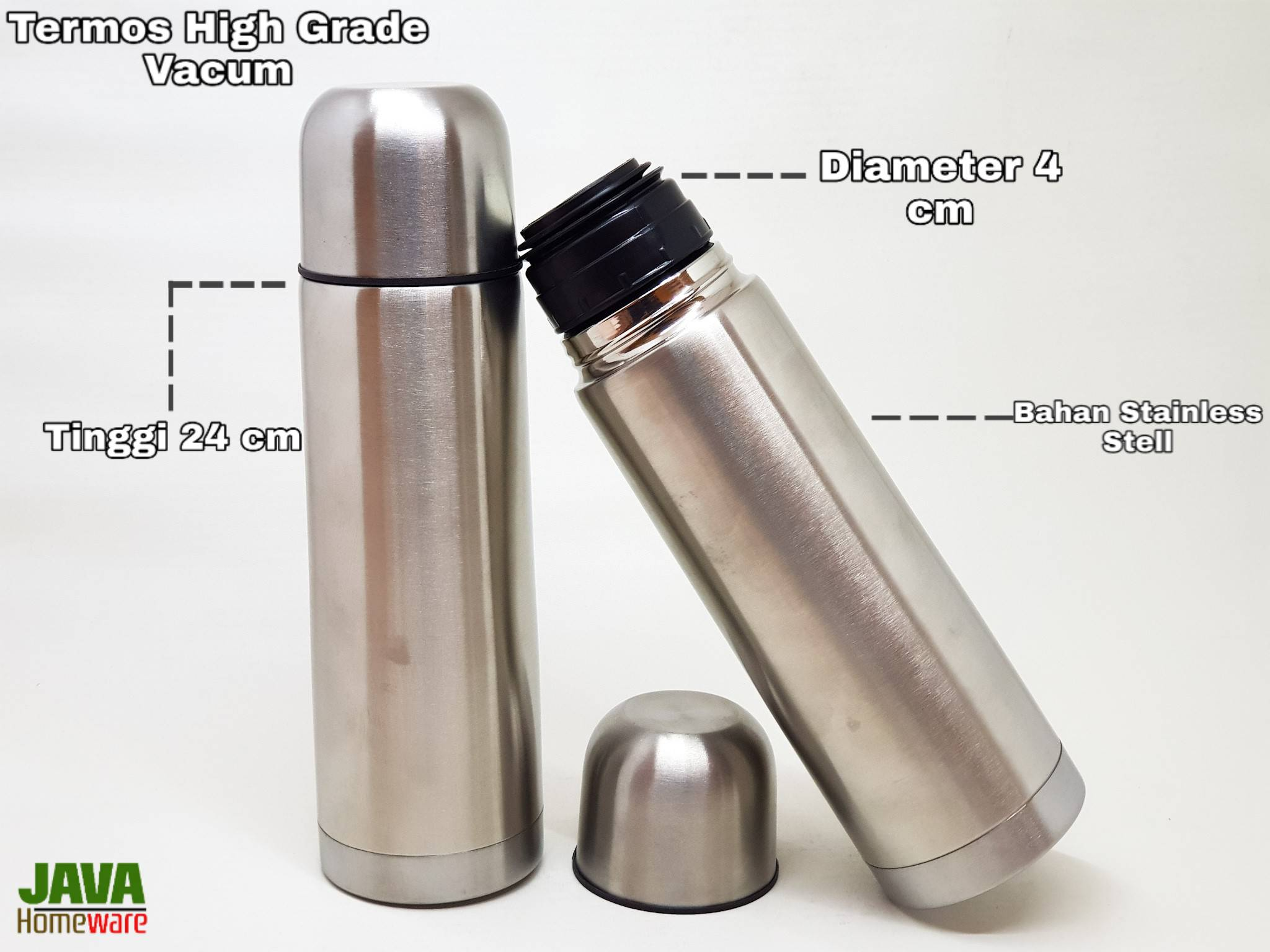 Termos High Grade Vacum Flask 18/8 Stailees Steel 0.5 L