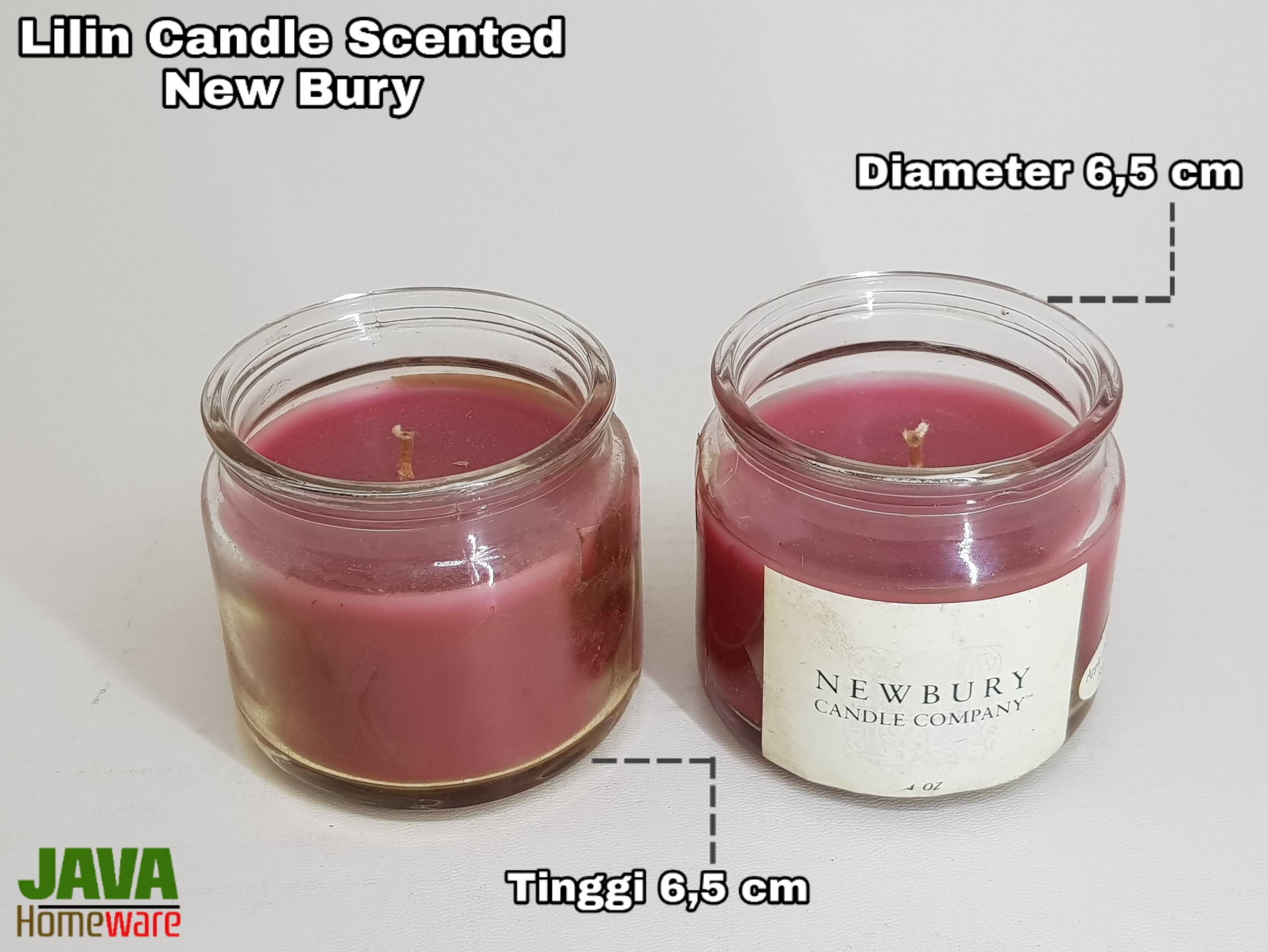Lilin Scented Candle New Bury Candle Company