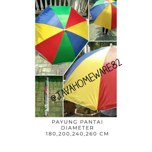 Payung pantai 90 cm