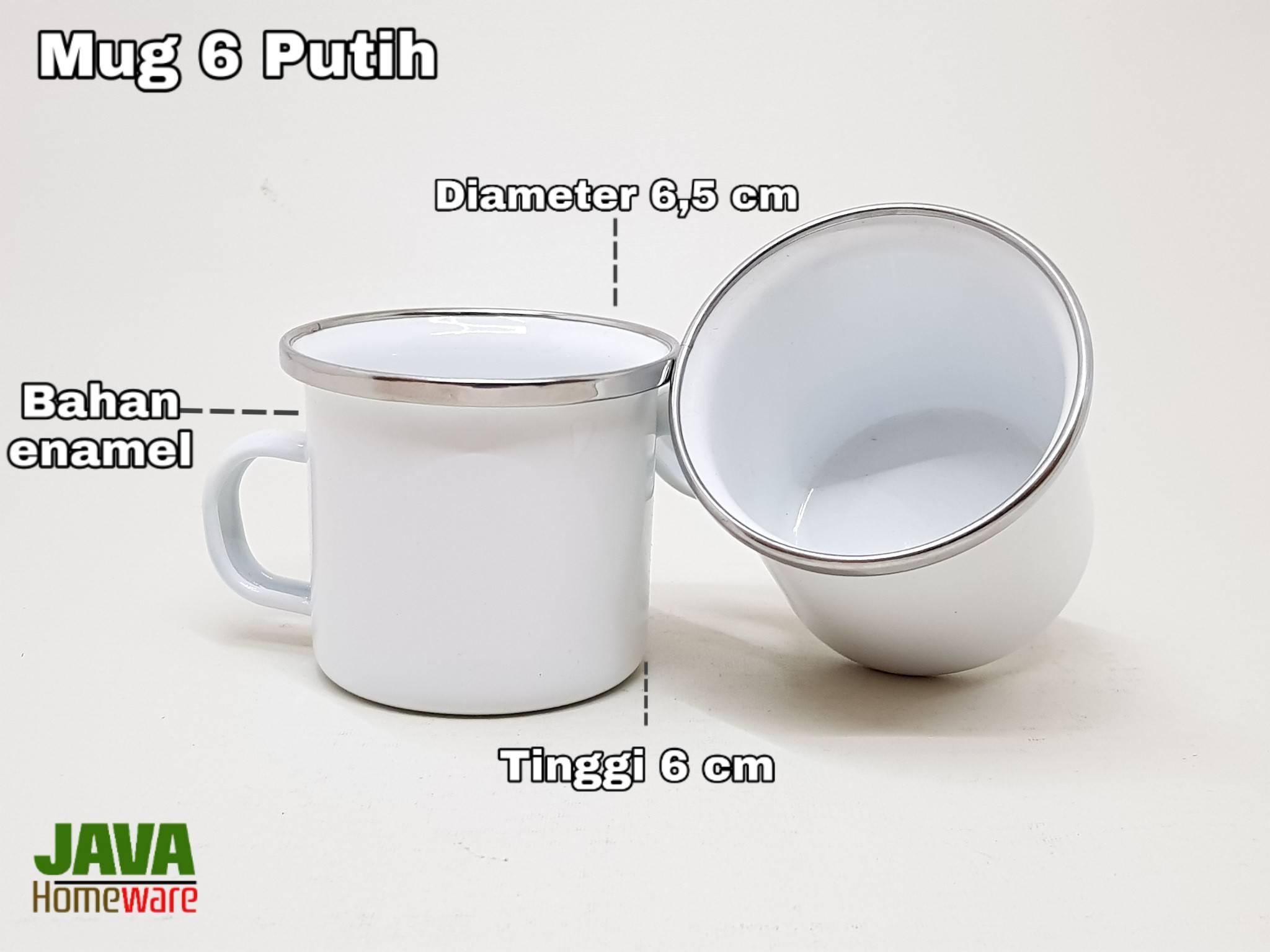 Mug 6 Putih